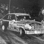 Alain Beauchef - Daniel Brichot, Ford Escort RS2000, retiredf