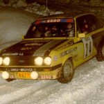 Alain Beauchef - Daniel Brichot, Ford Escort RS2000, retiredq