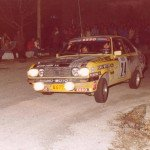 Alain Beauchef - Daniel Brichot, Ford Escort RS2000, retireds