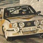 Anders Kullang - Bruno Berglund, Opel Ascona 400, 4thg