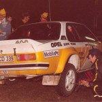 Anders Kullang - Bruno Berglund, Opel Ascona 400, 4thh
