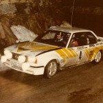 Anders Kullang - Bruno Berglund, Opel Ascona 400, 4thj