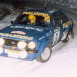 Ari Vatanen - David Richards, Ford Escort RS1800, accident