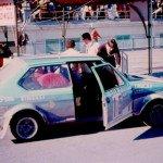 Attilio Bettega - Mario Mannucci, Fiat Ritmo 75 Abarth, 6thf