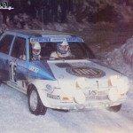 Attilio Bettega - Mario Mannucci, Fiat Ritmo 75 Abarth, 6thj