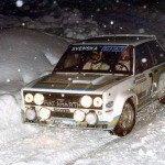 Bjorn Waldegard - Hans Thorszelius, Fiat 131 Abarth, 3rdg