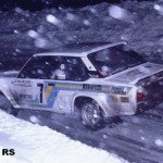 Bjorn Waldegard - Hans Thorszelius, Fiat 131 Abarth, 3rdh