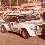 Bjorn Waldegard - Hans Thorszelius, Fiat 131 Abarth, 3rdq