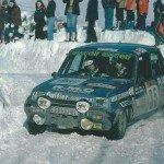 Bruno Saby Renault 5 Alpine