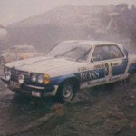 Ingvar Carlsson - Claes Billstam, Mercedes Benz 280 CE, 11thf