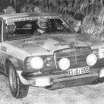 Ingvar Carlsson - Claes Billstam, Mercedes Benz 280 CE, 11thh