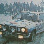 Ingvar Carlsson - Claes Billstam, Mercedes Benz 280 CE, 11ths