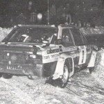 Jean-Claude Andruet - ''Biche'', Fiat 131 Abarth, accidents
