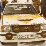 Jochi Kleint - Gunter Wanger, Opel Ascona 400, 8thf