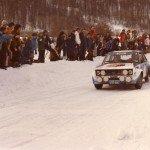 Markku Alen - Ilkka Kivimaki, Fiat 131 Abarth, accident