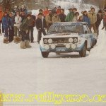 Markku Alen - Ilkka Kivimaki, Fiat 131 Abarth, accidentq