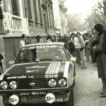 N° 24  Alain Beauchef  Daniel Brichot sur Ford Escort RS a