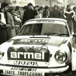 N° 6  Bernard Béguin  Jean-Jacques Lenne sur Porsche 911