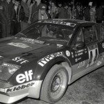 Olivier Lamirault - Chantal Lienard, Renault Alpine A310 V6, retired