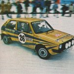 Per Eklund - Hans Sylvan, VW Golf GTi, 5th