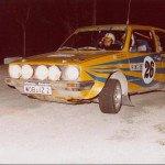 Per Eklund - Hans Sylvan, VW Golf GTi, 5thh