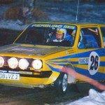 Per Eklund - Hans Sylvan, VW Golf GTi, 5thq