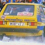 Per Eklund - Hans Sylvan, VW Golf GTi, 5ths