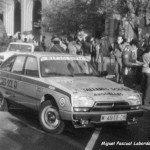 Ramon Canal Lopez - P.C.Fernandez, Citroen GS X3, retired