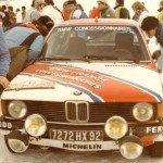 Timo Makinen - Atso Aho, BMW 320i, 14thk