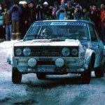 Walter Rohrl - Christian Geistdorfer, Fiat 131 Abarth, 1sts